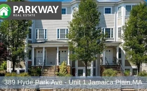 389 Hyde Park Ave – Unit 1 Jamaica Plain, MA – PENDING