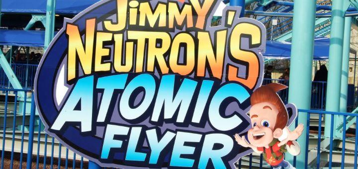 Jimmy Neutrons Atomic Flyer Movie Park Germany Parkwelten