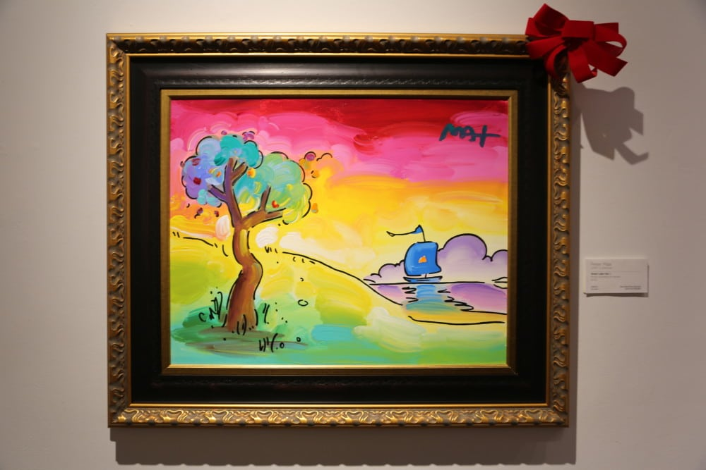 buying art gift Peter Max