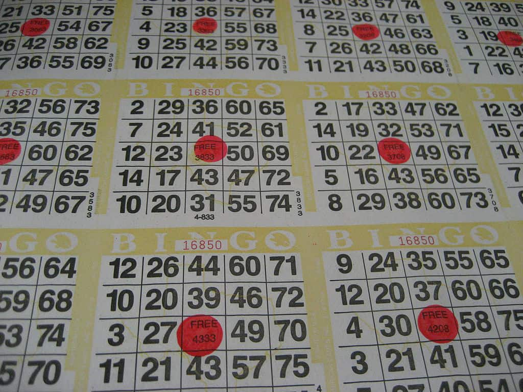 Bingo – 20 January