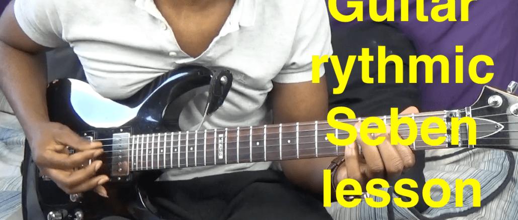 Apprendre la guitare accompagnement sebene