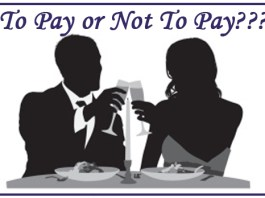 who pays for dinner
