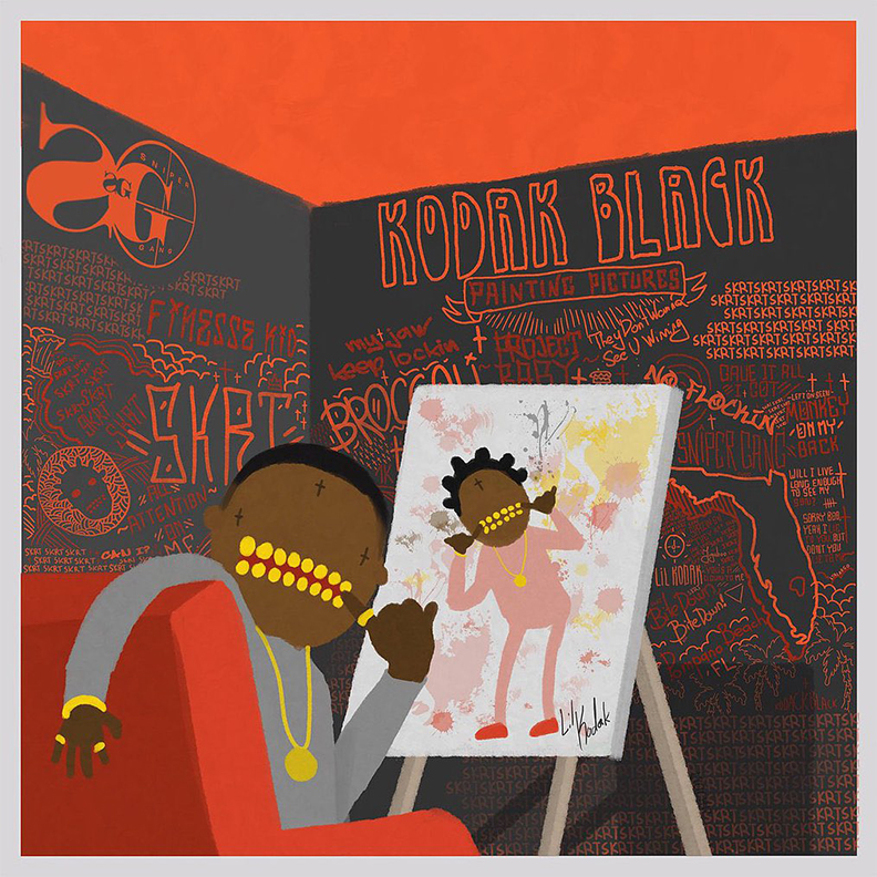 Kodak Black Painting Pictures tracklist Archives   Parle Magazine     Kodak Black Reveals Debut Album   Painting Pictures   Alongside  Project  Baby  Documentary