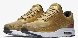 Nike Metallic Gold Air Max Zero