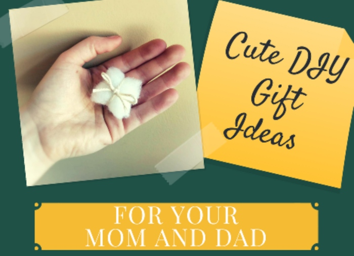 cute diy gift ideas for your mom and dad for any occasion