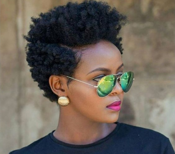 Short Natural Hairstyles Black Hair