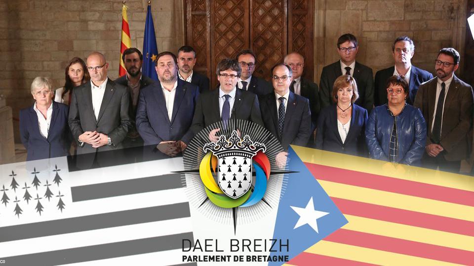 Gouvernement Catalan en octobre 2017