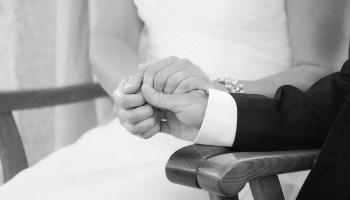 Modèle De Voeux De Mariage Des époux émouvant Parler Damour