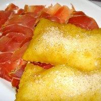 Gnocco fritto con salumi misti e formaggi