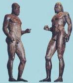 bronzi riace