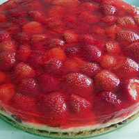 Cheesecake al mascarpone e fragole