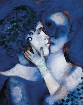 chagall 1914 gli amanti in blu