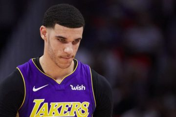 Lonzo Ball sous le maillot des Lakers