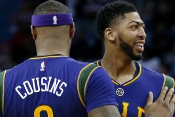 NBA - Anthony Davis considère désormais DeMarcus Cousins comme « un ennemi»