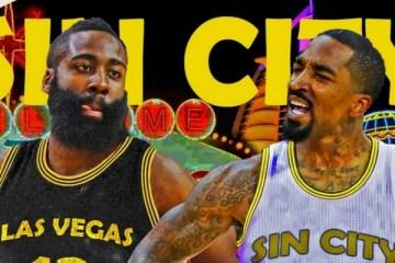 NBA - Les joueurs de la ligue imaginent déjà une franchise à Las Vegas