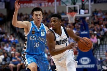 Dennis Smith Jr. met les Beijing Ducks à l'amende avec Dallas.