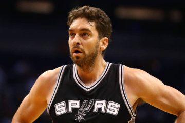 Pau Gasol sous le maillot des San Antonio Spurs