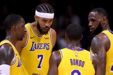 LeBron James est le nouveau leader des Los Angeles Lakers