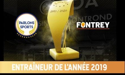 """Trophées Parlons Sports/Fontrey 2019 : Découvrez les nommés dans la catégorie """"Entraîneur de l'année"""""""