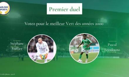 """Meilleur """"Vert"""" des années 2000 : Un premier duel Ruffier-Feindouno"""