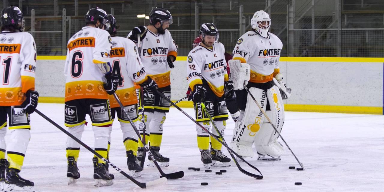 Moment de l'année 2020 : la démonstration du Roanne Hockey