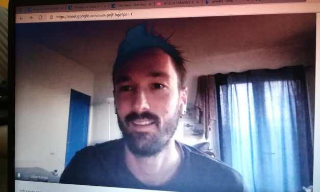 Moment de partage avec Julien Lyneel pour le Roanne-Riorges Volley