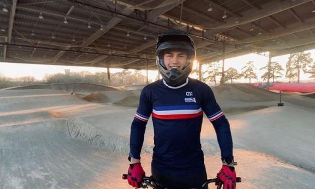 Les riders du Saint-Etienne BMX en pleine préparation en Italie