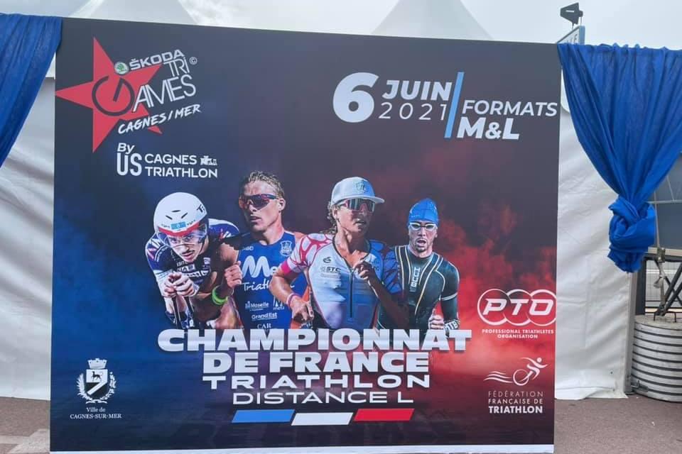 Le Roanne Triathlon a brillé aux championnats de France de triathlon longue distance