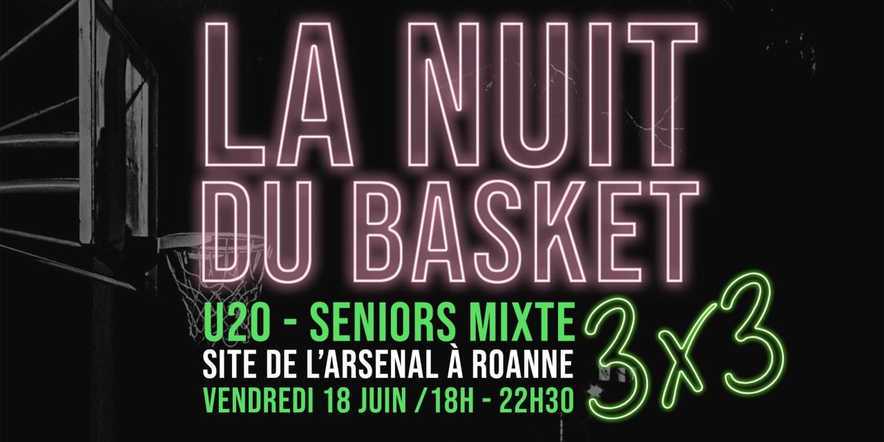 Une nuit du basket organisée ce vendredi par le Roannais Basket Féminin