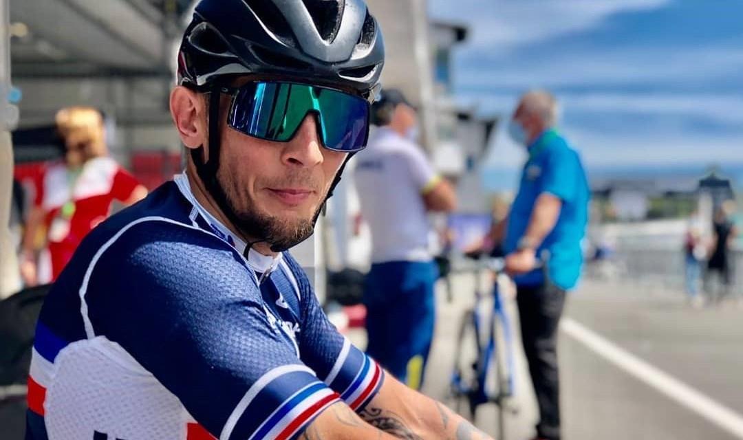 """Loïc Vergnaud : """"Je vise une médaille sur les 3 courses"""""""