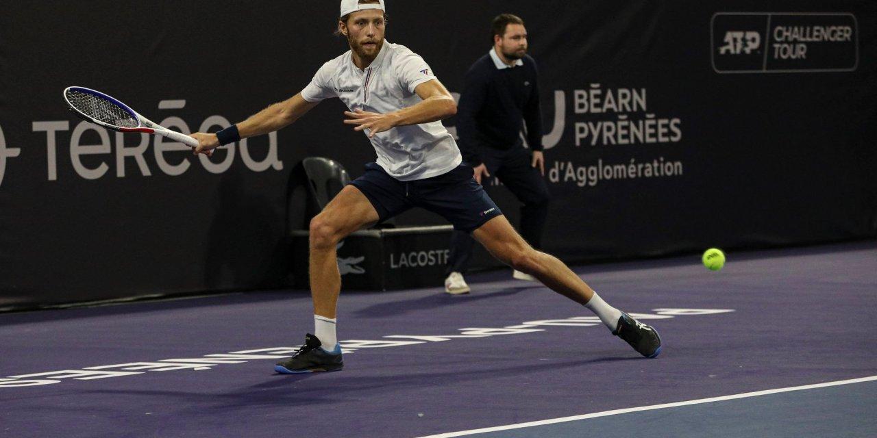 Hugo Grenier rêve de l'US Open