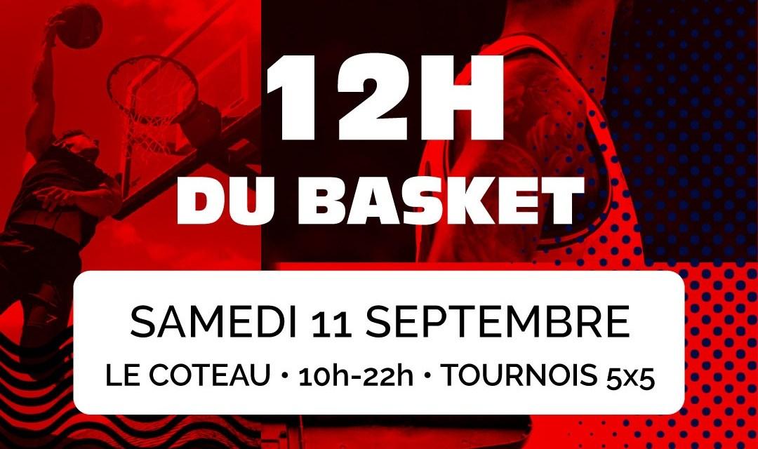 Le comité de la Loire organise les 12H du basket au Coteau le 11 septembre