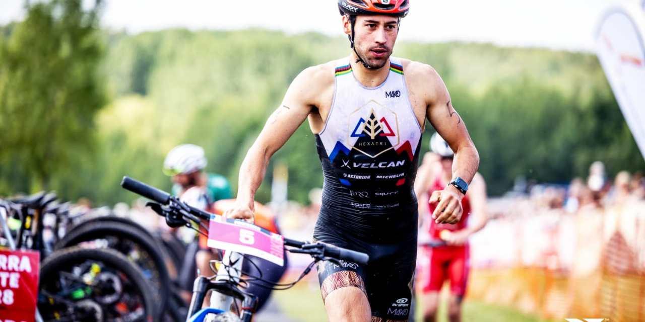 Double podium pour Arthur Forissier au Xterra Nouvelle-Aquitaine