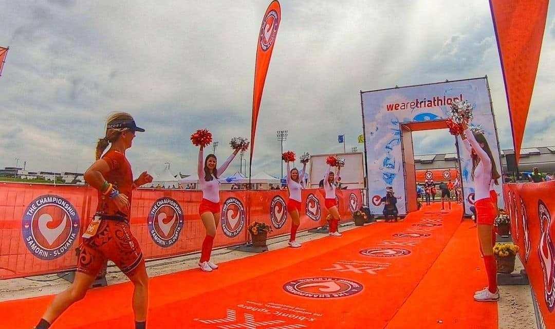 Triathlon : Virginie Perrin performe en Slovaquie