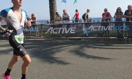 Romain Serveaux performe à L'IronMan de Nice !