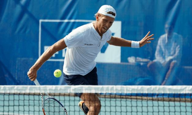 Hugo Grenier grimpe au classement ATP
