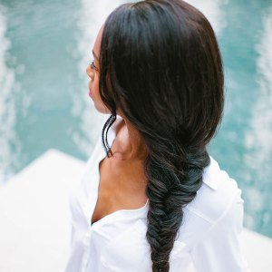 Blowout with Classic Braid at Parlor Beauty Bar