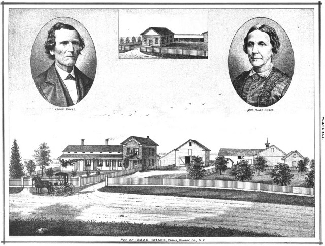 Isaac Chase property