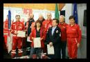 Medesano. Nonostante la pioggia è stato un successo la festa per i 45 anni della Croce Rossa.