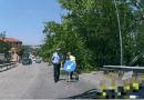 Fornovo. Grosso ramo cade sulla provinciale.  Rallentamenti al traffico nel giorno di mercato. Da record l'intervento ripristino.