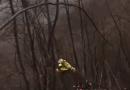 Le SPETTACOLARI immagini del soccorso con verricello ed elicottero nel Parmense il 6 gennaio 2018