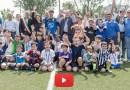 Rubbiano José Altafini all'inaugurazione del nuovo campo da Calcio a 5, fucina dei futuri campioni