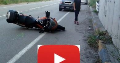 Motociclista trasportato in CODICE ROSSO  al Maggiore dopo aver investito un daino.