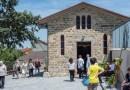 Vescovo Parma inaugura restauro Chiesa Selva di Specchio a Solignano