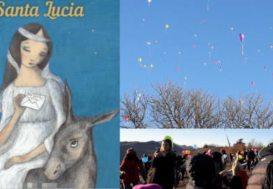 """Santa Lucia. Posta """"aerea"""" per le letterine dei bambini di Santa Lucia e del comune di Medesano"""