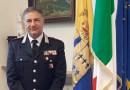Il comandante Provinciale del Carabinieri, collonello Altavilla, saluta la provincia di Parma, destinazione Roma