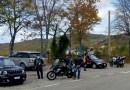 SS62 della Cisa controlli sui motociclisti.
