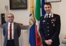 Il nuovo comandante provinciale dei Carabinieri, colonnello Toscani, incontra il presidente della Provincia di Parma Rosi