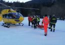 Un morto ed un ferito il bilancio dell'intervento del Soccorso Alpino , dei VVFF e dei volontari della AP di Langhirano nella zona lago Santo Marmagna