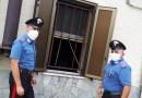 MEDESANO I carabinieri segano le inferiate di una abitazione per salvare un donna.